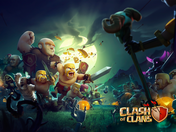 Clash of Clans Loading