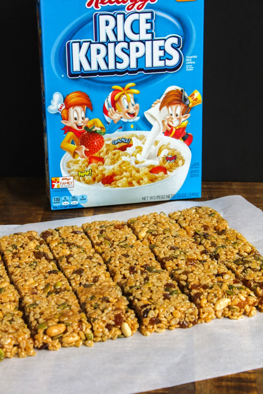 Rice krispies fruit and nut breakfast bars so i decided to take my beloved rice krispies and turn them into a breakfast bar making a heartier and more filling meal and much easier to eat on the go ccuart Image collections