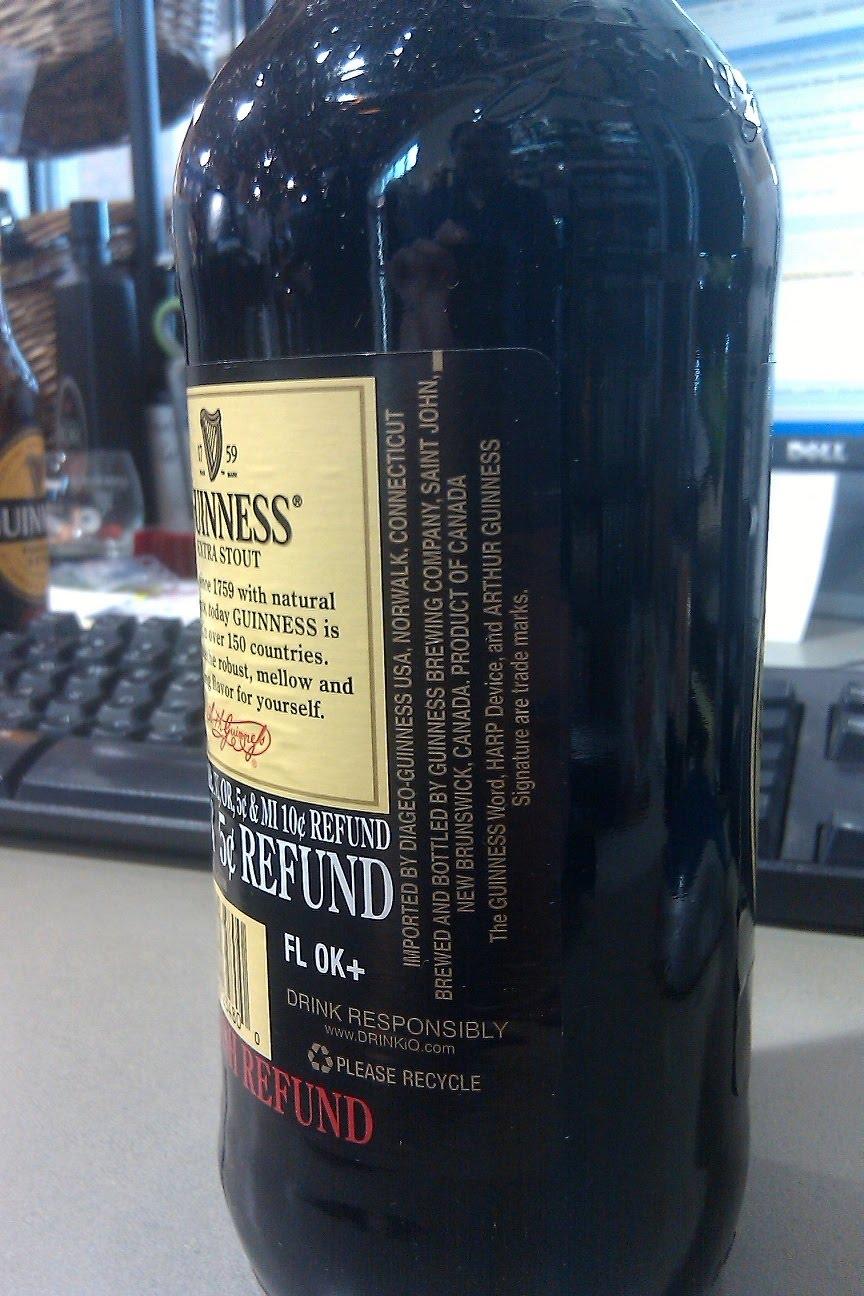 The beer me blog re does guinness beer taste better in for Guinness beer in ireland