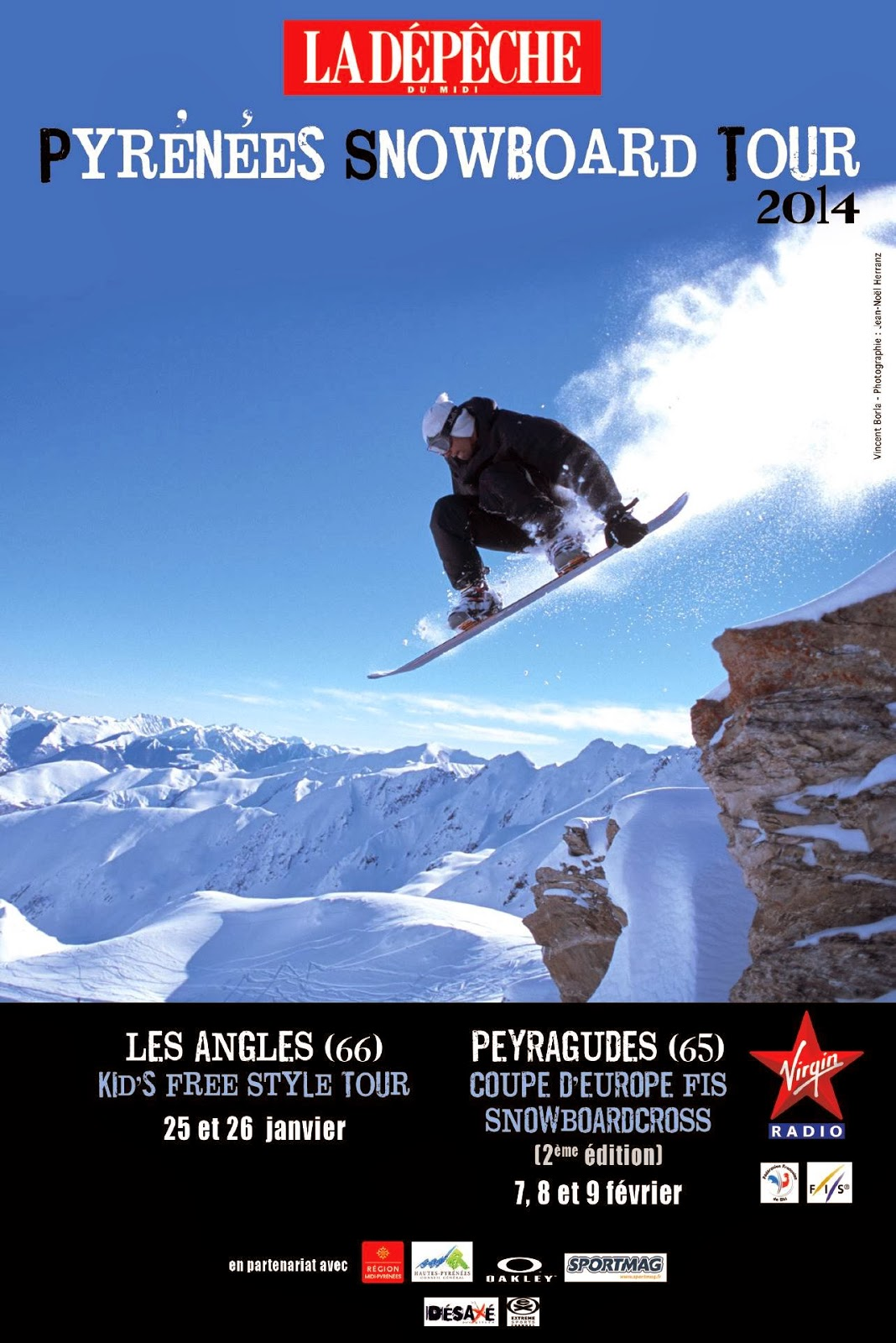 Coupes d'Europe de Snowboardcross Peyragudes