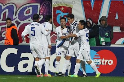 Trabzonspor Inter 1-1 video