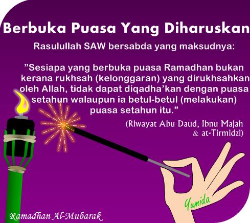 Berbuka yang diharuskan, golongan dibolehkan tidak berpuasa, kelonggaran berpuasa, Ramadhan 2014, ucapan Ramadhan, kata-kata Ramadhan, hadis Ramadhan, hadis puasa, Ramadhan Al-Mubarak, ucapan puasa, Ramadan 1435H