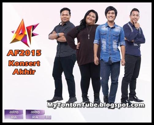 Konsert Akhir AF2015 (2015) Astro - Full Konsert