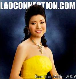 Beer Lao Model From 2009 calendar