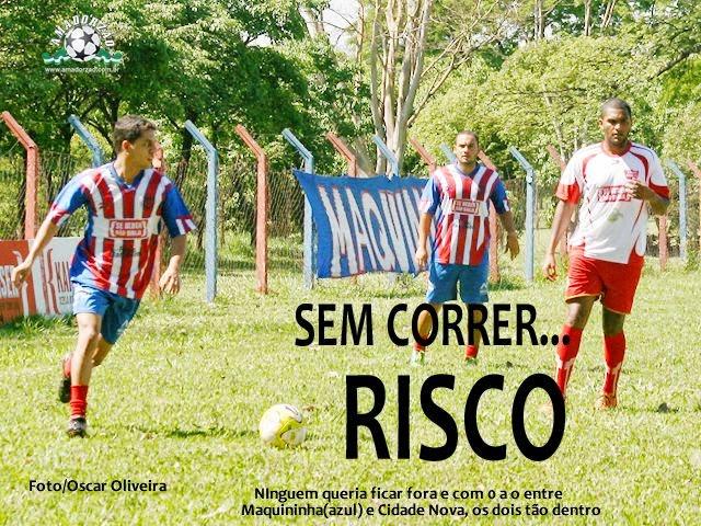 Maquininha e Cidade Nova fazem jogo treino e focam quartas de final.