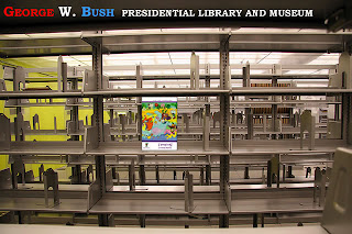 The George W. Bush Presidential Library and Museum funny