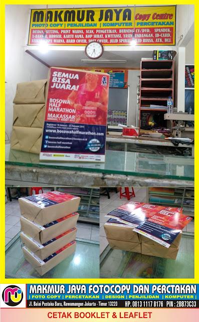 Jasa Cetak Brosur Murah Rawamangun Jakarta