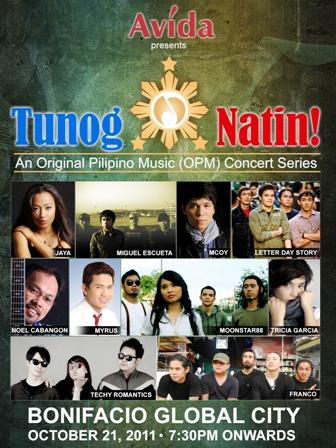 Tunog Natin! OPM concert series holds  third leg at Market! Market!
