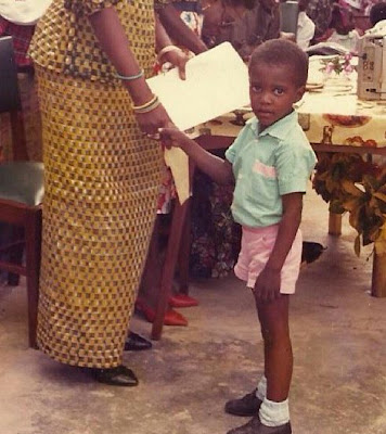 john dumelo childhood photo