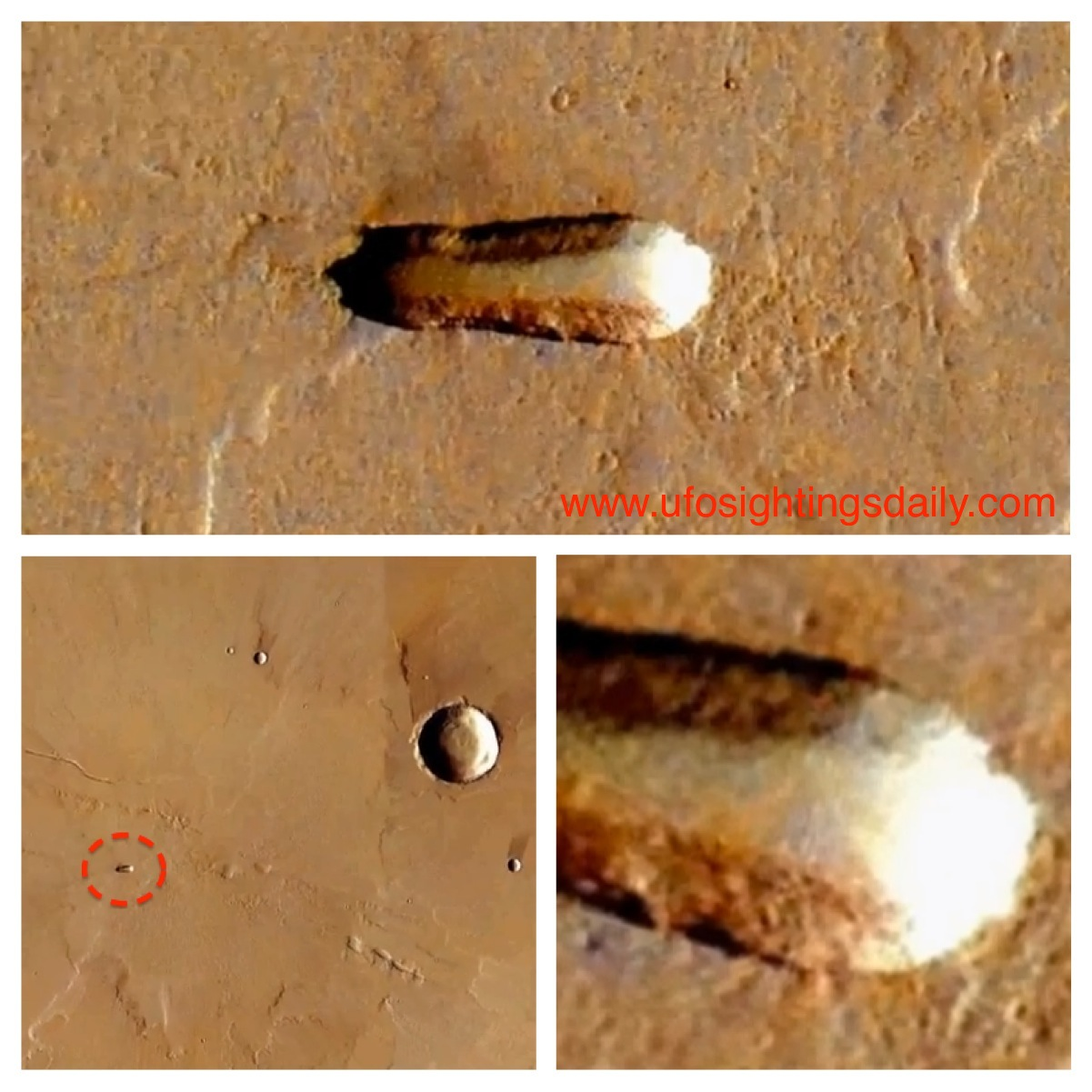 alien base on mars - photo #14