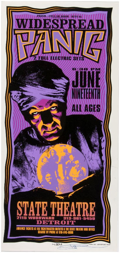 Legendary Rock Poster Artist