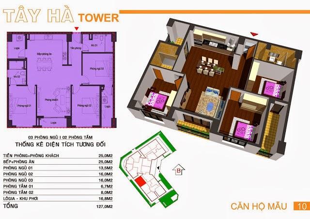 Chung Cư Tây Hà Tower, chung cu tay ha tower, 15