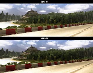 Euro truck simulator 2 Mlaa_comparison