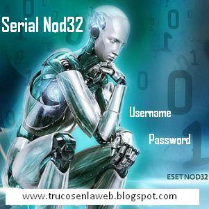 Contrase  As Para Su Antivirus Nod32 V 5   Nod32 V4  Usuarios Y