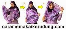 Cara Memakai Kerudung, tutorial pakai hijab, pashmina, shawl, jilbab cantik, modis, terbaru, pesta