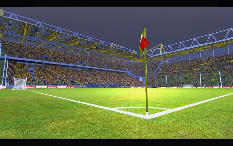 pes 2014 signal iduna park made megafire blogspot. Black Bedroom Furniture Sets. Home Design Ideas