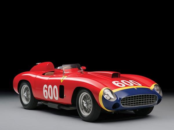 Subastan el Ferrari 290 MM de Fangio