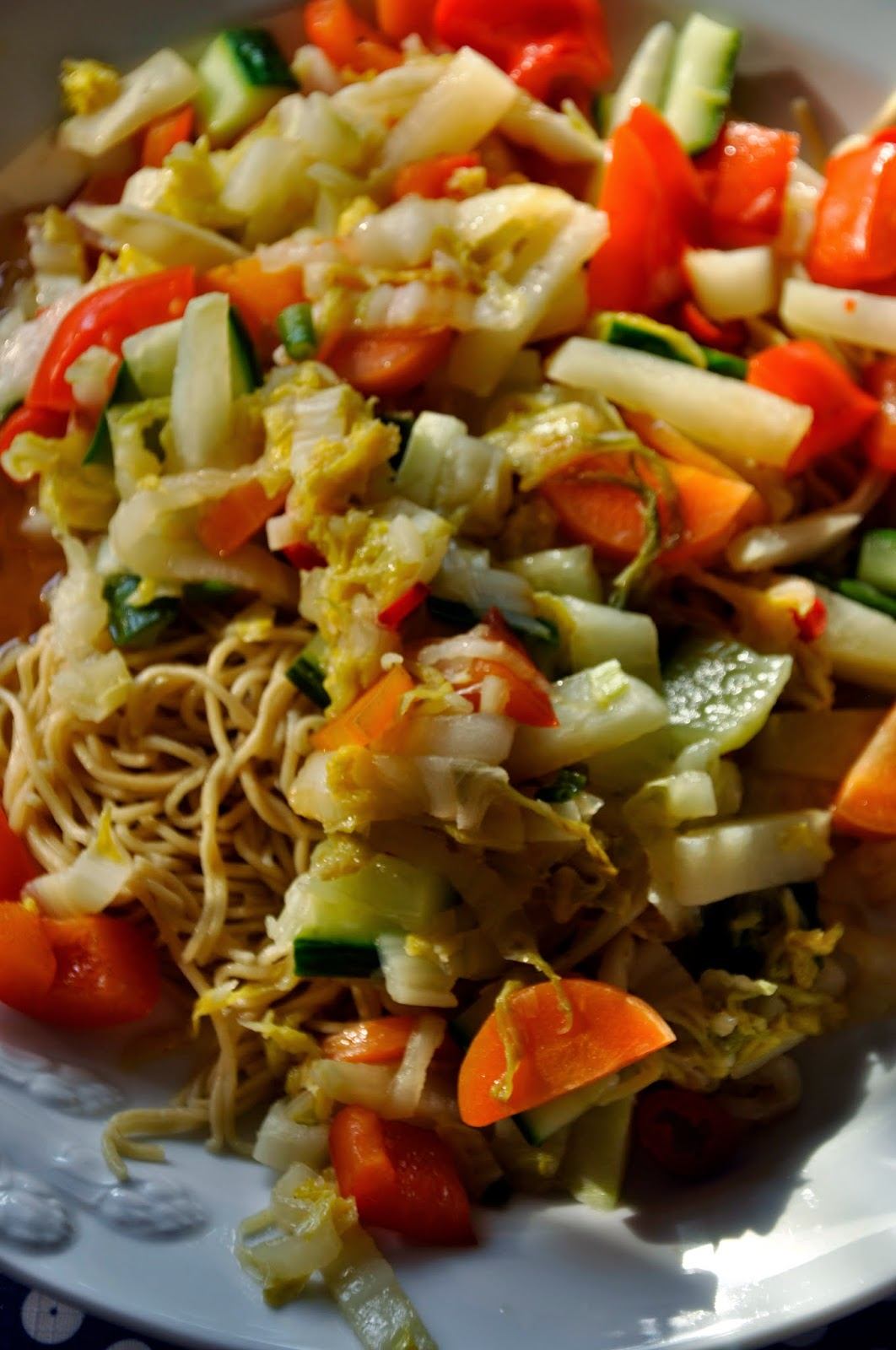 Szybko Tanio Smacznie - Makaron chow mein z warzywami