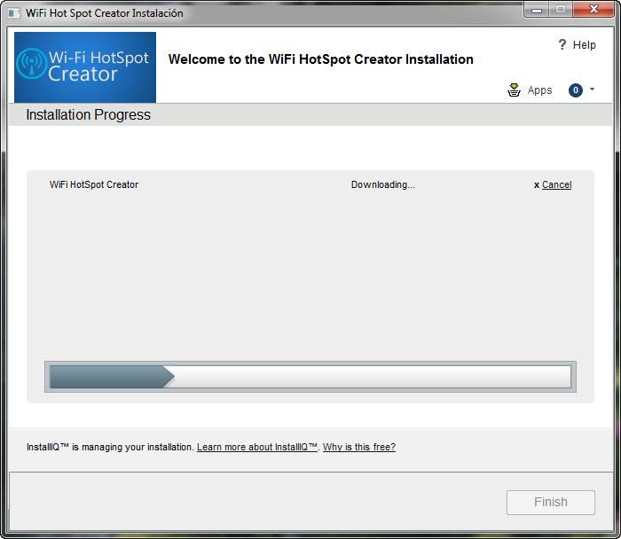 proceso de instalacion-wifi-hotspot-creator