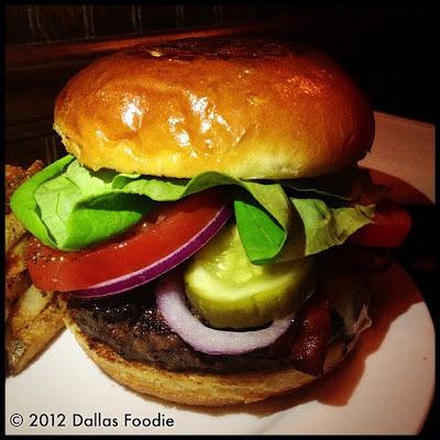 """Brunch Burger"" at The Grape Restaurant"