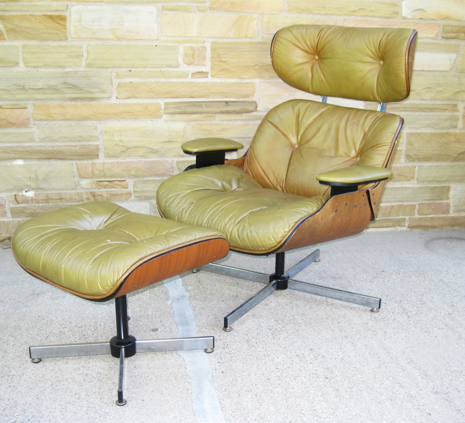 Gotcha modern vintage selig mid century lounge chair the eames alternative - Selig eames chair ...
