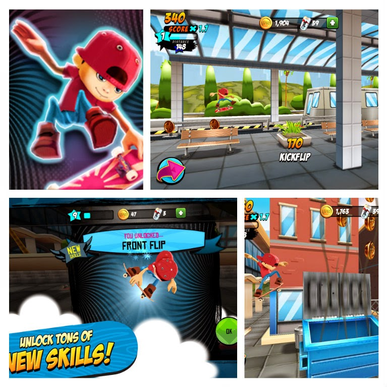 Epic Skater v1.3.0 apk (Mod) (Unlimited Coins/Soda)