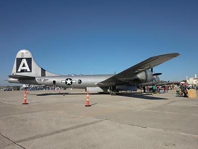 Randolph Air Force Base 2011 Air Show: B-29 Superfortress - Fifi
