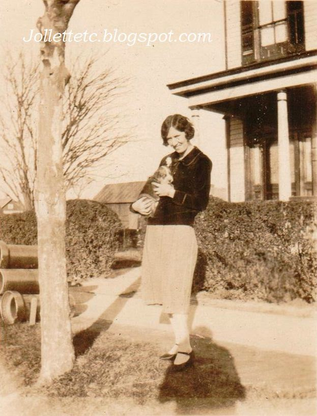 Helen Killeen Parker Portsmouth, Virginia about 1920