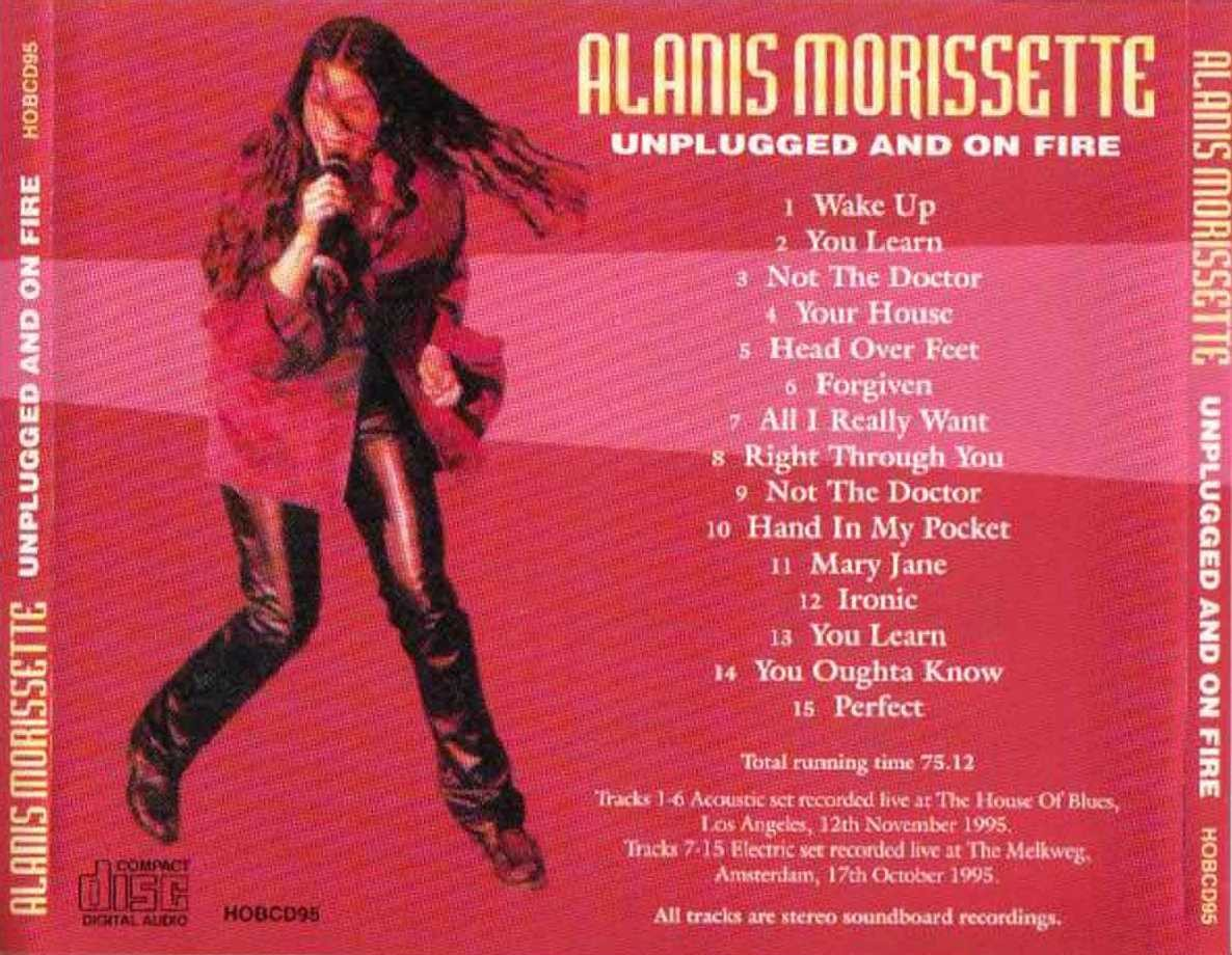 Alanis Morissette's Lyrics - Learn Languages with Music ...
