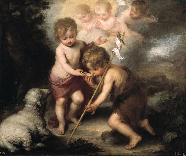 Los Niños de la Concha  bella obra del gran artista español Bartolomé Murillo