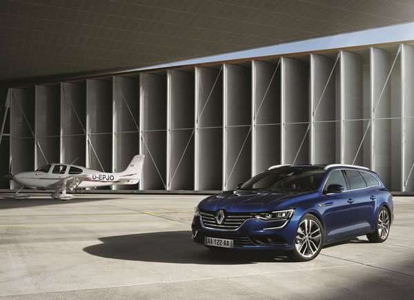 「Renault Talisman Estate」のフロント画像