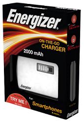 Cargador externo usb Energizer