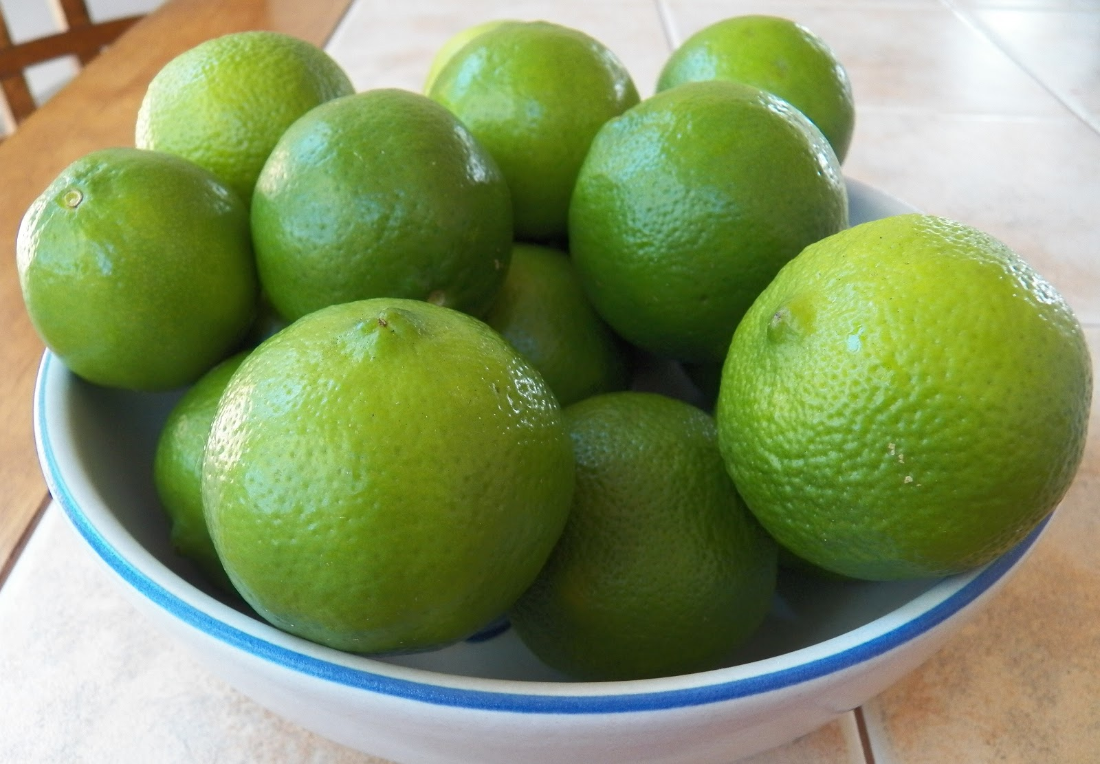 LIMES!!!! Lime Curd