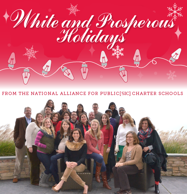 Dick Cheney's Nina Rees and the US Chamber of Charters [aka The National Alliance for Public [sic] Charter Schools] wish you a White Christmas