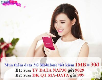 MUA THÊM DATA 3G