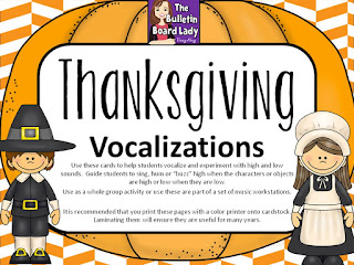 Sunday's Freebie: Thanksgiving Vocal Explorations