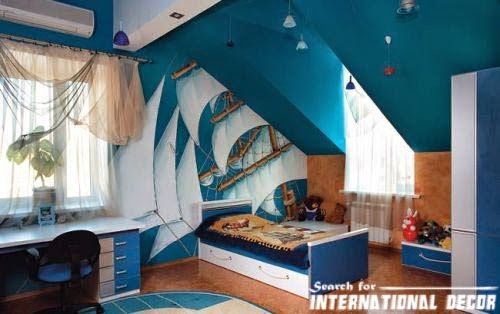 boys room ideas, blue bedroom
