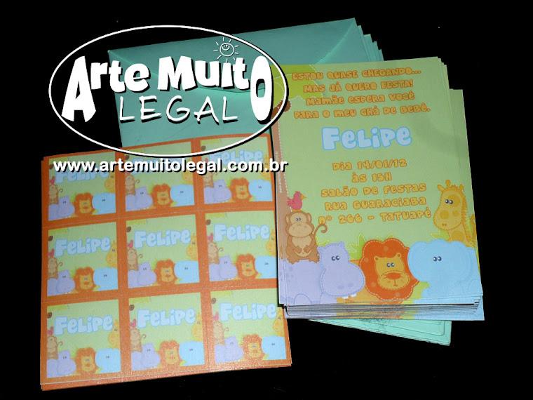 Convites e Lembranças Arte Muito Legal