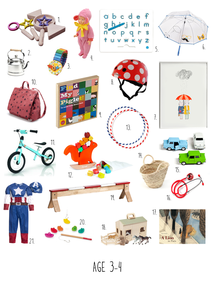 kid-play-do: Christmas Gifts for 3-4 Year Olds