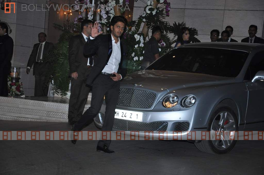 Ritesh Deshmukh on 1999 Bentley Continental Gt