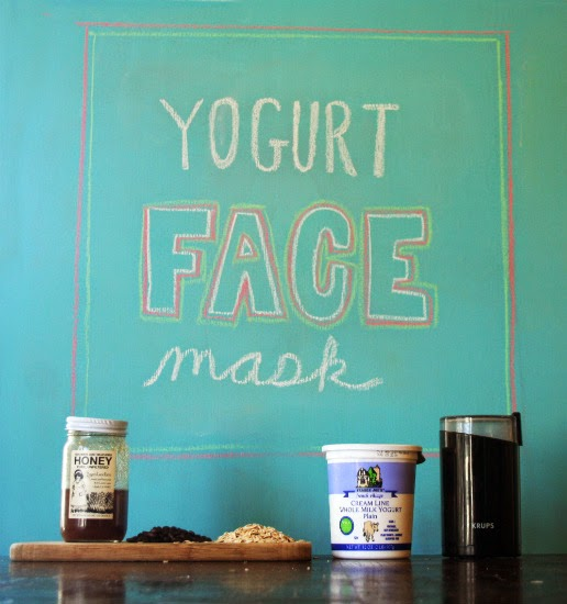Treat yo'self! This easy DIY face mask requires four common kitchen ingredients.