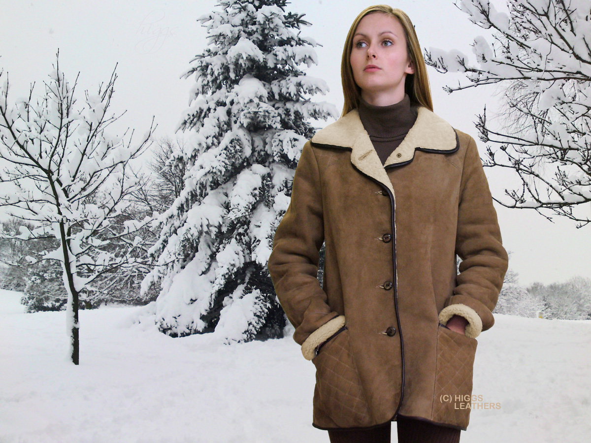 Sheepskin Jackets. Wrap up warm with a beautifully stylish ladies sheepskin jacket from Leather Company. Our range of high grade sheepskin coats and jackets are the perfect addition to .