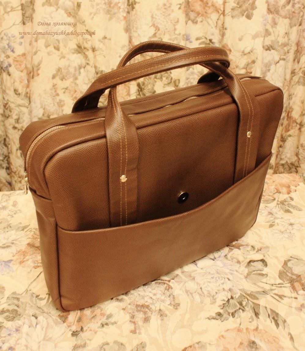Кожаный портфель своими руками МозгоЧины 86