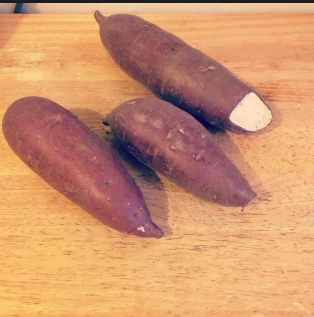 recipe, spicy, sweet, eating fabulously, Japanese sweet potato
