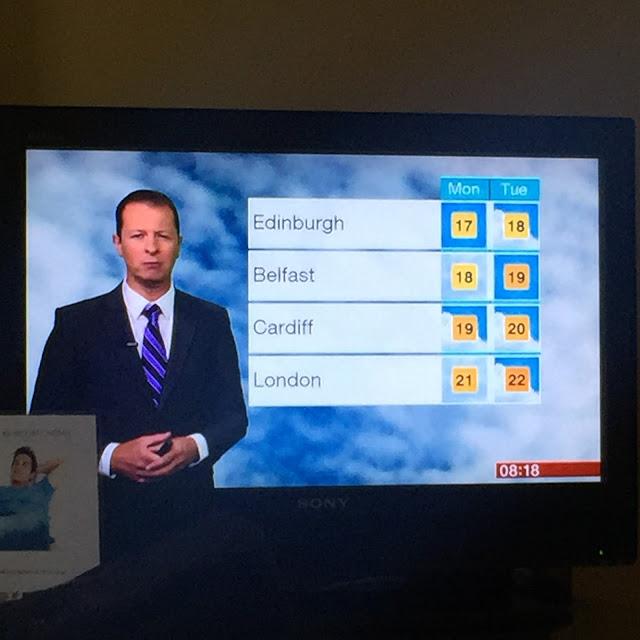 London, London Weather Forecast, Sunshine, Slight Cloudy, 22C