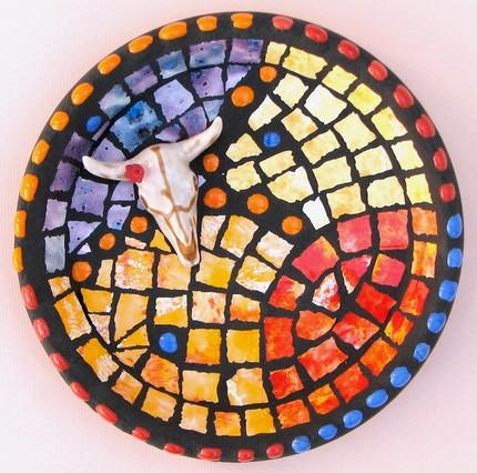 Ams artful mosaics home decor for Mosaic home decor