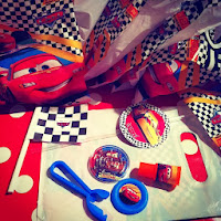 Cars 2 themed Party bags and favours