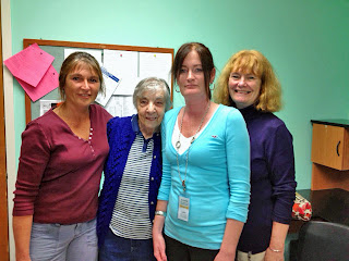 Mary, Peggy, Lynn and Linda at Radius.