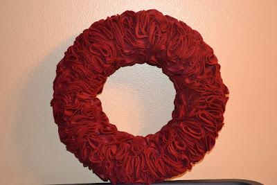 DIY Felt Wreath Tutorial