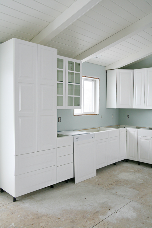 good Do Ikea Kitchen Doors Fit Other Cabinets #5: IHeart Kitchen Reno: IKEA Cabinet Installation
